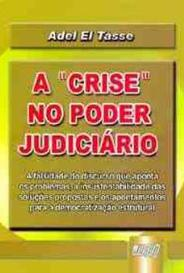 """A """"Crise"""" No Poder Judiciário capa"""