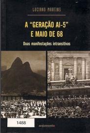 """A """"Geração Ai-5"""" E Maio De 68 capa"""
