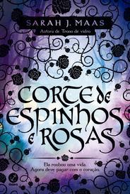 Corte De Espinhos E Rosas capa