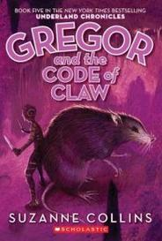Gregor And The Code Of The Claw capa