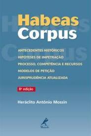 Habeas Corpus - 8ª Ed. capa