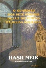 Hash Meir - O Guardião Dos Sete Portais De Luz Do Templo Da Deusa Dourada capa