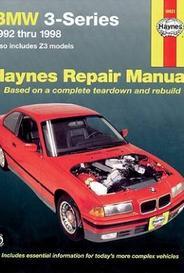 Haynes Bmw 3-Series 1992-1998 Includes Z3 Models capa