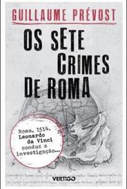 Os Sete Crimes De Roma capa