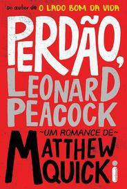 Perdão, Leonard Peacock capa
