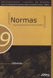 Tabelas - Normas Para Apresentação De Documentos Científicos capa