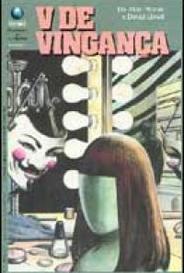 V De Vingança #1 capa