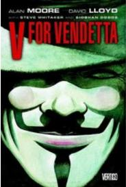 V For Vendetta - Vertigo capa