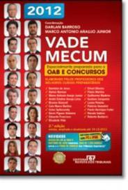 Vade Mecum 2012 Oab E Concursos - Rt capa
