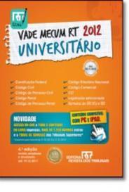 Vade Mecum Universitario 2012 - Rt capa