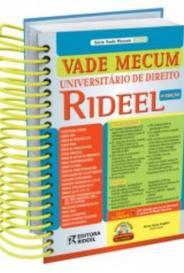 Vade Mecum Universitario De Direito 2011 - Rideel - 10Ed capa