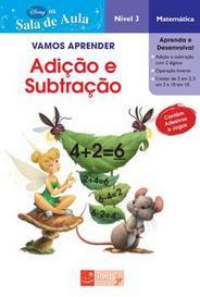 Vamos Aprender - Educação Infantil - Adição E Subtração - Matemática - Nível 3 - Fadas capa