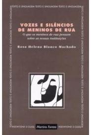 Vozes E Silêncios De Meninos De Rua capa