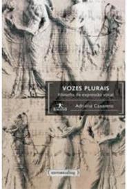 Vozes Plurais - Filosofia Da Expressão Vocal - Col. Humanitas capa