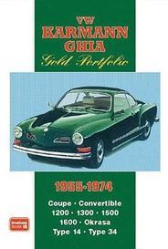Vw Karmann Ghia Gold Portfolio 1955-1974 capa