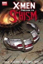 X-Men: Prelude To Schism capa